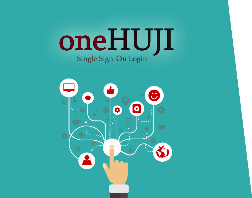one HUJI - single sign on login
